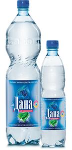 Вода питьевая артезианская «Дана» высшей категории