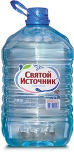 Вода природная питьевая «Святой Источник» артезианская